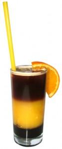 Кофейный коктейль с апельсиновым соком
