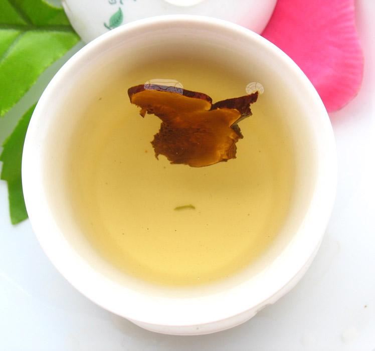 Зеленый чай с Ганодермой